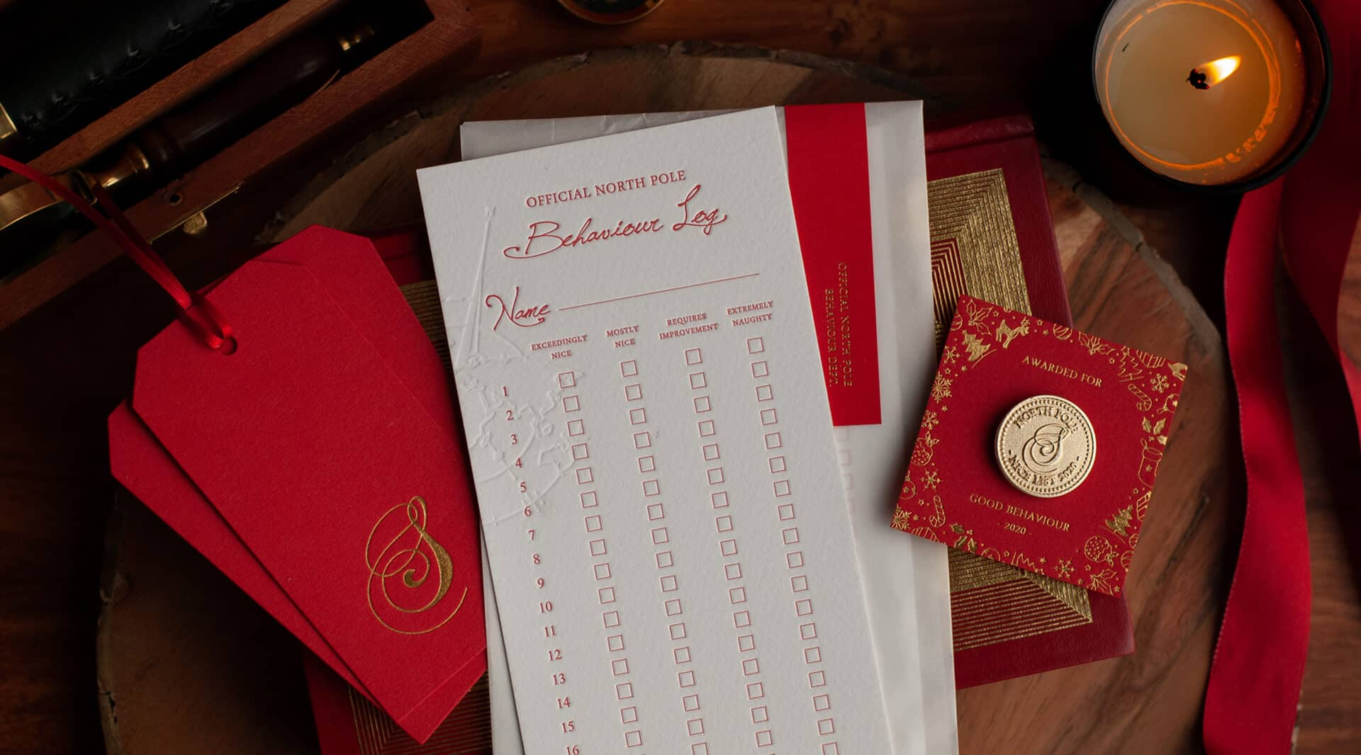 Letters From Santa Father Christmas Truly Authentic Wax Seals