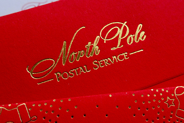 north pole postal mark